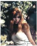 Madeline Smith (Hammer Horror) - Genuine Signed Autograph 6906